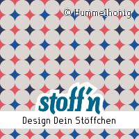 "Motiv: ""maxi_dots_beige"", ©Hummelhonig, www.stoffn.de"