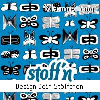 "Motiv: ""schmetterlinge"", ©Hummelhonig, www.stoffn.de"