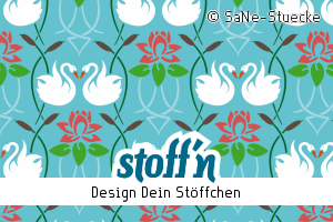 """Motiv: """"SaNe_Stuecke_Jugendstil"""", ©SaNe-Stuecke, www.stoffn.de"""