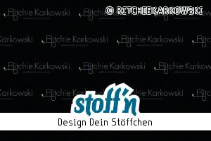 """Motiv: """"©ritchie karkowski logo"""", ©RITCHIEKARKOWSKI, www.stoffn.de"""