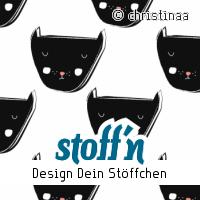 "Motiv: ""blackcat"", ©christinaa, www.stoffn.de"