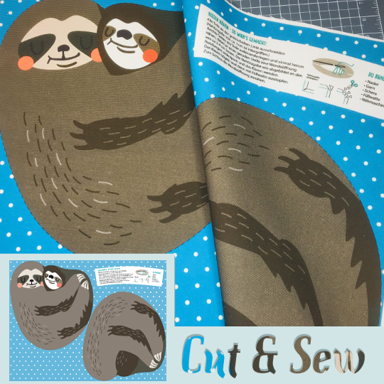 "Cut & Sew ""Sloth Plushie"" 